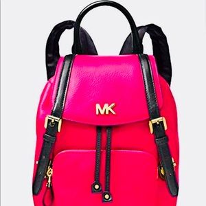 🎒NEW🎒Michael Kors Beacon SM Backpack/UltraPink🎒